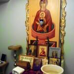 """Образ Божией Матери """"Живоносный Источник"""", написанный специально для молитвенной комнаты в детской больнице"""