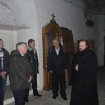 Представители РЖД на экскурсии в центральном храме Никольского собора 12 февраля 2013 г.