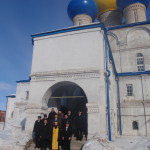 Представители Управления государственного надзора за ядерной и радиационной безопасностью Минобороны РФ после экскурсии в Никольском соборе