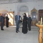 А. А. Фурсенко на экскурсии в Никольском соборе. Проводит экскурсию о.Александр Шестаков