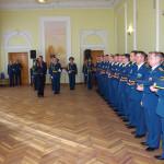 Освящение стяга Спецуправления ФПС МЧС России №18