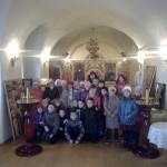 Школьники с классным руководителем Е.В. Данилович. 21 ноября 2013г.