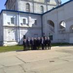 В Никольском соборе побывала делегация Совбеза РФ