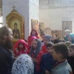 29 мая школьники побывали в Никольском соборе. Экскурсию провел иерей Александр Шестаков.