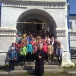 В праздник Вознесения Господня школьники побывали на экскурсии в Никольском соборе