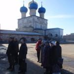 Молебен на месте погребения святых Антония и Феликса в Неделю Крестопоклонную, 2015 год